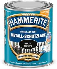 Hammerite Metall-Schutzlack matt 750 ml schwarz