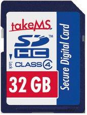 takeMS SDHC 32GB Class 4 (88631)