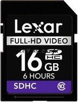 Lexar Media SDHC Full-HD 16GB (LSD16GFSBEUHD)
