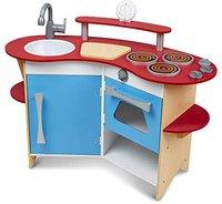 Melissa & Doug Hölzerne Küche Cooks Corner