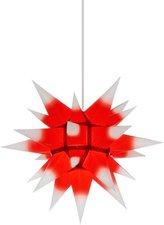 Herrnhuter Sterne I4 Kern rot - weiße Spitzen (40 cm)