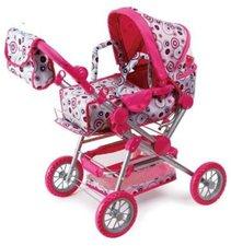 Sun Toys Puppenwagen Shira grau/pink