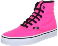 Vans Authentic Hi neon pink