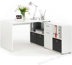 FMD Möbel Schreibtisch Lex (mit Sideboard)
