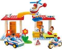 Playmobil Krankenhaus mit Sanitäter und Polizist (5046)