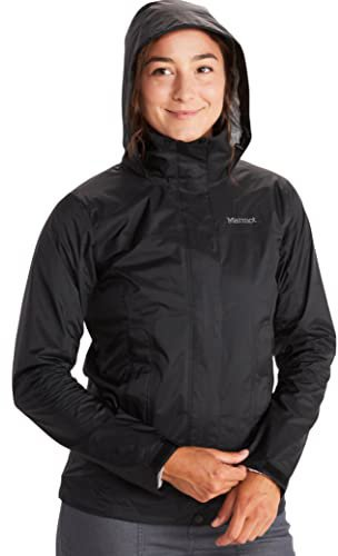 Marmot Women's Precip Jacket Black