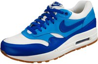 Nike Wmns Air Max 1 VNTG sail/hyper blue/blitz blue/game mid brown