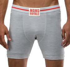 Mons Royale Boxer grey marl