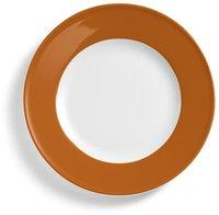 Dibbern Solid Color karamell Frühstücksteller 21 cm