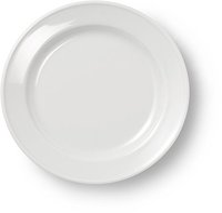 Dibbern Solid Color weiß Frühstücksteller 19 cm