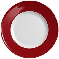 Dibbern Solid Color signalrot Frühstücksteller 19 cm