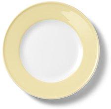 Dibbern Solid Color vanille Frühstücksteller 19 cm