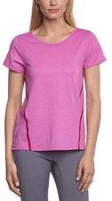 Nike Tailwind Loose Kurzarm Damen Laufshirt lila