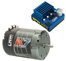 LRP Electronic Combo Spin Zero BL / Vector K7 17.5T (80752)