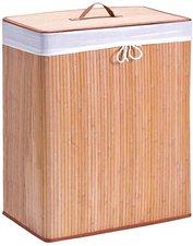 Zeller Wäschesammler Bamboo 2-fach natur