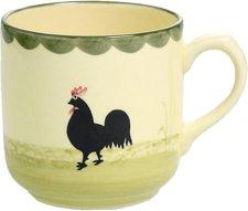 Zeller Keramik Hahn und Henne Kaffeebecher 0,35 Ltr.