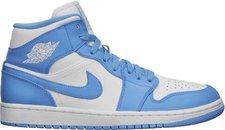 Nike Air Jordan 1 Mid matte silver/matte silver/laser purple/deep royal blue