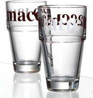 Ritzenhoff Flirt Latte Macchiato Glas konisch 37cl