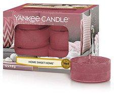 Yankee Candle Tea Lights Home Sweet Home (x12)