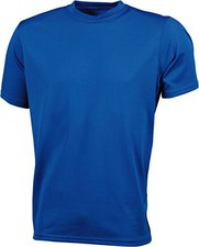 James & Nicholson Men's Active T blau