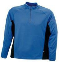 James & Nicholson Men's Running Shirt blau