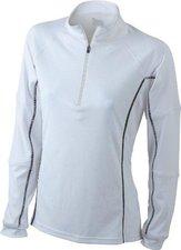 James & Nicholson Ladies' Running Reflex Shirt JN426 weiß