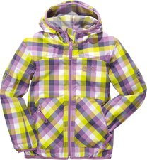 Jack Wolfskin Kids Cube Jacket Soft Violet Checks