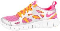 Nike Free Run 2.0 GS pink glow/atomic mango/metallic