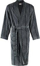 Cawö Herren Bademantel Kimono (3809) anthrazit