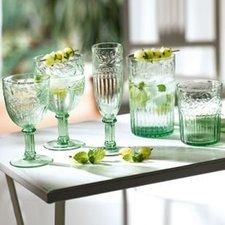 De Sina Weißweinglas-Set 6-tlg. grün