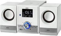 AEG Unterhaltungselektronik MC 4461 BT weiß