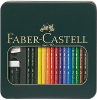 Faber-Castell Polychromos & Castell 9000 Set (110040)