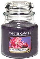 Yankee Candle Black Plum Blossom Medium Jar Candle (411g)