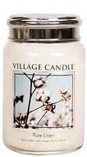 Village Candle Pure Linen Jar (1219g)