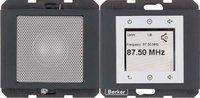 Berker Radio Touch mit Lautsprecher K.1 anthrazit matt (28807006)
