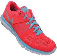 Nike Flex 2014 Run Women laser crimson/metallic silver/polarized blue