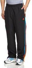 Adidas Männer Essentials 3-Stripes Woven Trainingsanzug black/solar blue