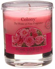 Wax Lyrical Rose Garden Small Candle Glass