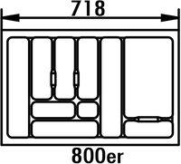 Naber Besteckeinsatz 4 800er