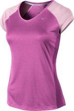 Nike Miler V-Neck lila