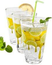 Koopman Trinkglasset DRIP 3-teilig