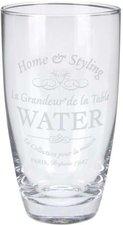 Koopman Trinkglas GRAVUR Glas bunt