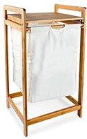 Relaxdays Wäschesammler mit Ablage