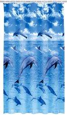 Kleine Wolke Ökoplast-Duschvorhang Delfin (180 x 200 cm)