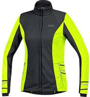 Gore Mythos 2.0 Windstopper Soft Shell Lady Jacke neon yellow
