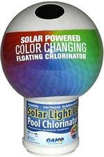 GAME - Spa Products Chlordosierschwimmer Globe mit Solarbeleuchtung