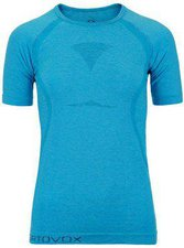 Ortovox Merino Competition Cool Short Sleeve Women blue lagoon