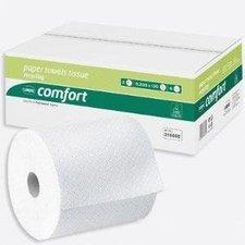 Wepa Comfort Handtuchrollen 2-lagig weiß (6 Rollen)