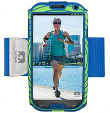 Nathan Sports Sonic Boom blau/grün (Galaxy S4)