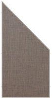 Brügmann TraumGarten Weave Lüx bronze Abschlusselement 88 x 178/88 cm